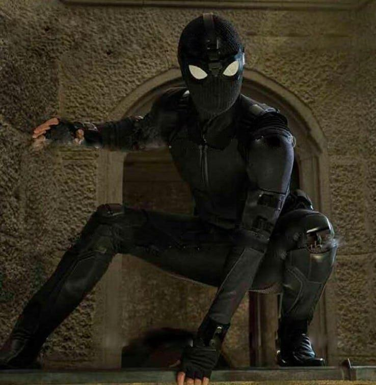 La stealth suit di Spider-Man in Far From Home
