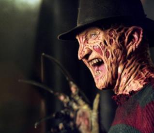 Freddy Krueger nel film Nightmare - Dal profondo della notte