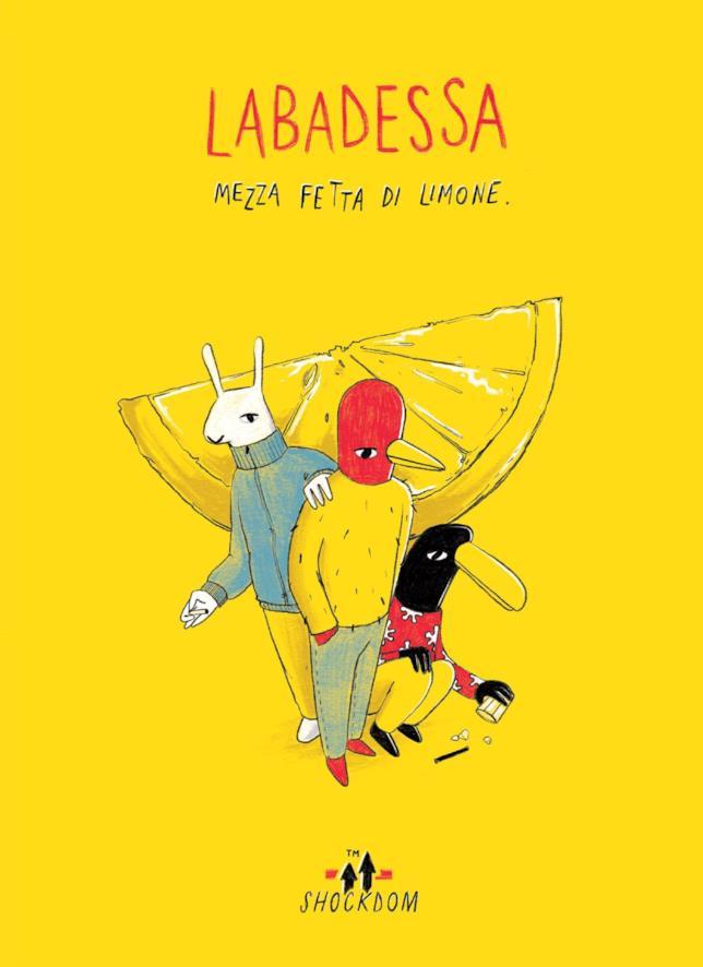 L'Uomo Uccello, Franco e Wilson sulla cover di Mezza fetta di limone di Labadessa