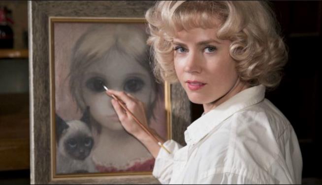 Una scena di Big Eyes con Amy Adams