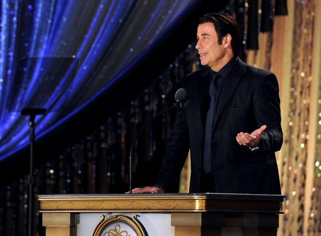 John Travolta nella chiesa di Scientology