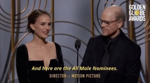 Natalie Portman presenta i registi nominati
