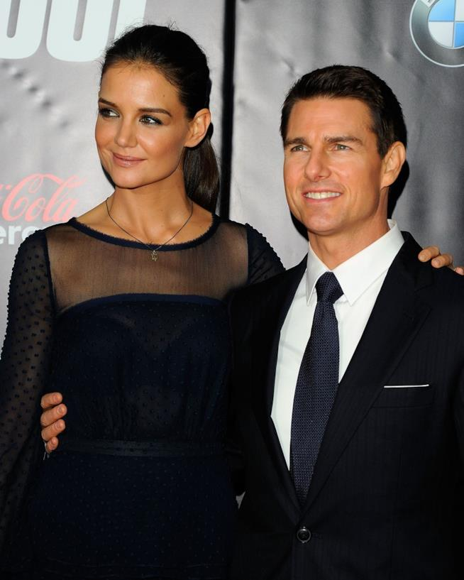 Tom Cruise e Katie Holmes insieme a un evento