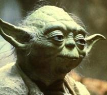 Un'immagine di Yoda