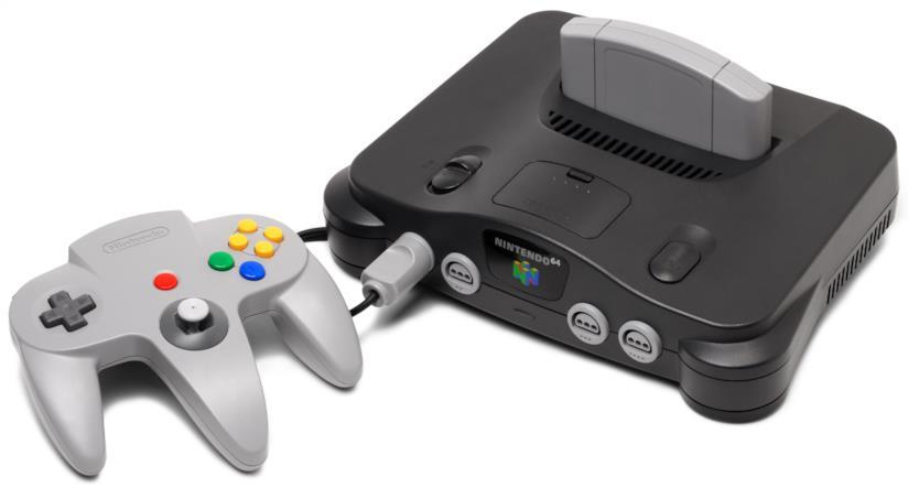 Controller a tridente e design originale del Nintendo 64
