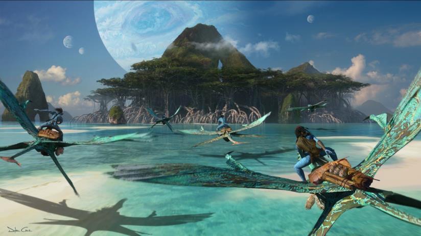 Il concept art di Avatar 2