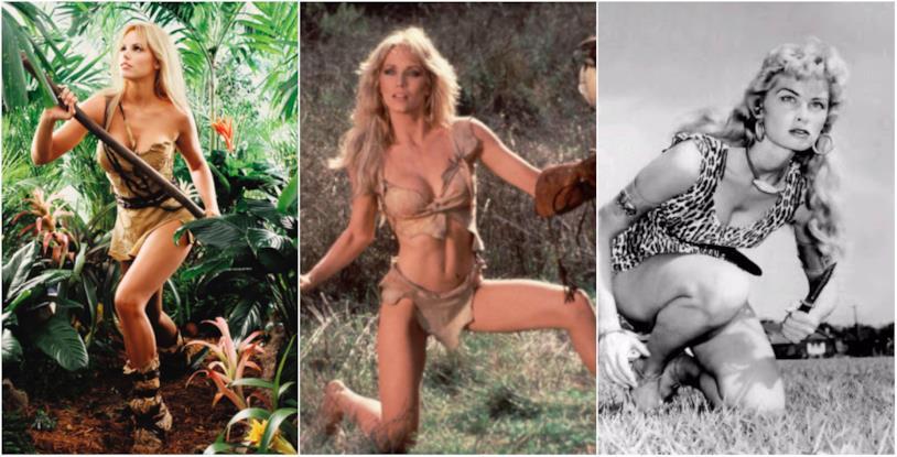Le tre Sheena negli adattamenti TV e cinematografici