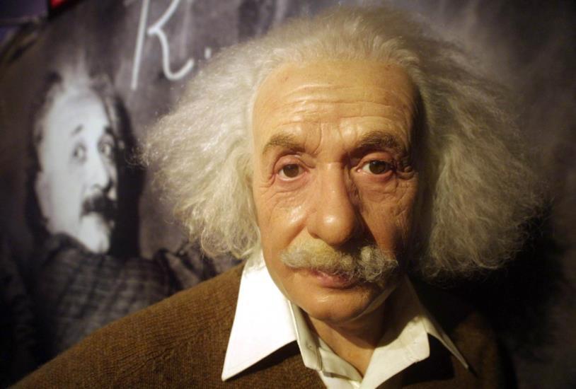 Una foto di Albert Einstein