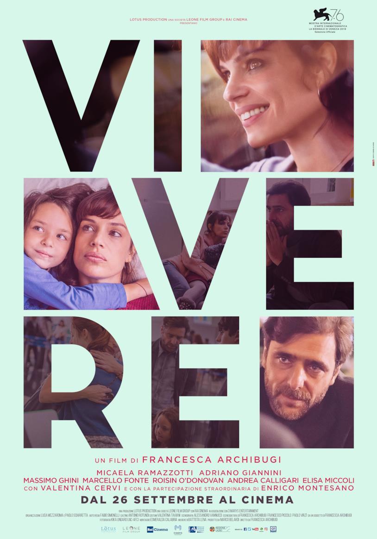 Poster ufficiale di Vivere