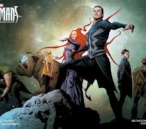 Inhumans il poster della serie Marvel