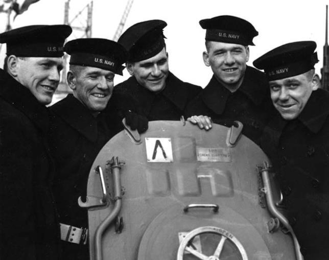George, Frank, Joe, Matt e Al Sullivan