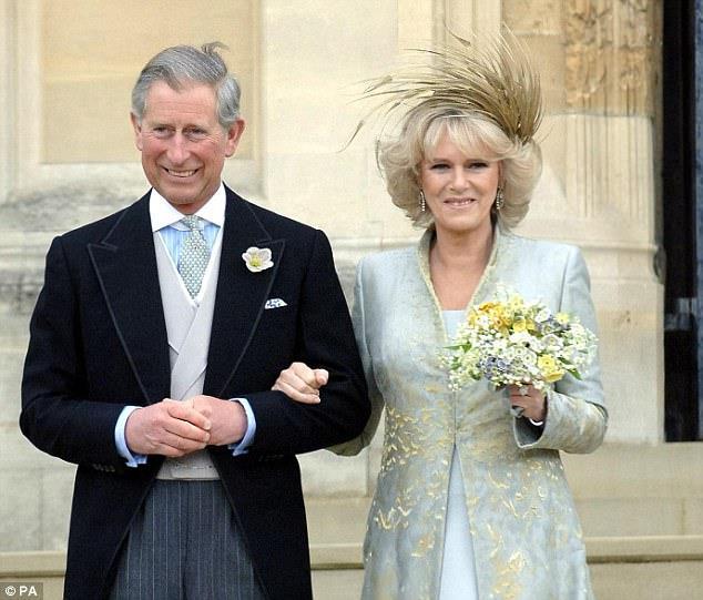 Camilla Parker-Bowles, duchessa di Cornovaglia, e il principe Carlo