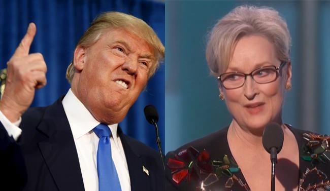 Meryl Streep premiata ai Golden Globes 2017