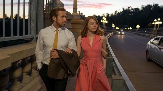 Una scena del film La La Land