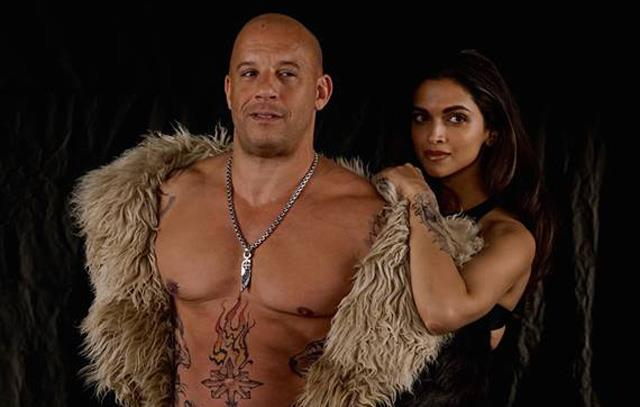 Una scena di xXx - Il ritorno di Xander Cage con Vin Diesel e Deepika Padukone