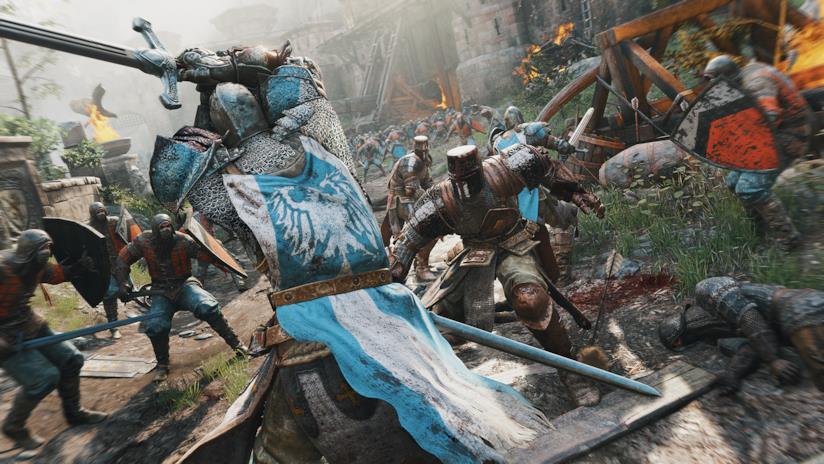 Un brutale combattimento in For Honor