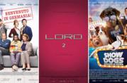 I poster dei film Benvenuto in Germania!, Loro 2, Show Dogs