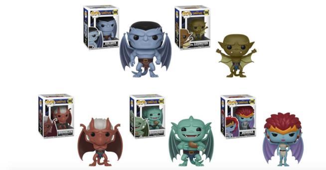 I Funko Pop! Della serie dedicata ai personaggi di Gargoyles