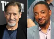 Gli attori James Remar e Damon Gupton