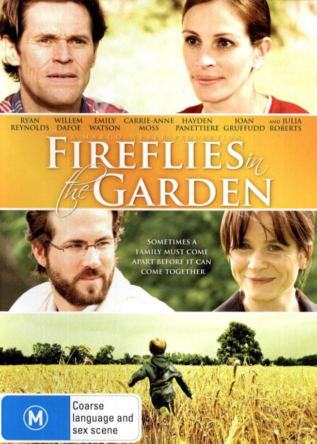 Il poster di Fireflies in the Garden