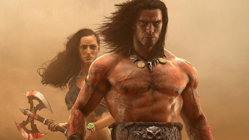 Conan il Barbaro sulla copertina di Conan Exiles