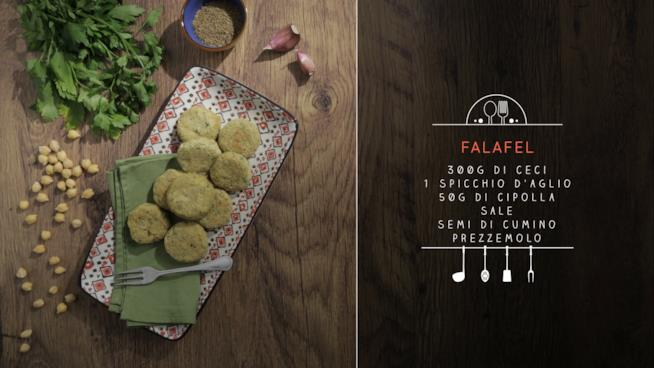 La ricetta dei falafel