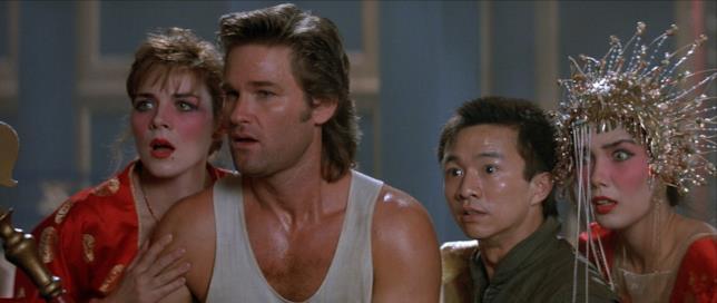 Una scena di Grosso guaio a Chinatown del 1986