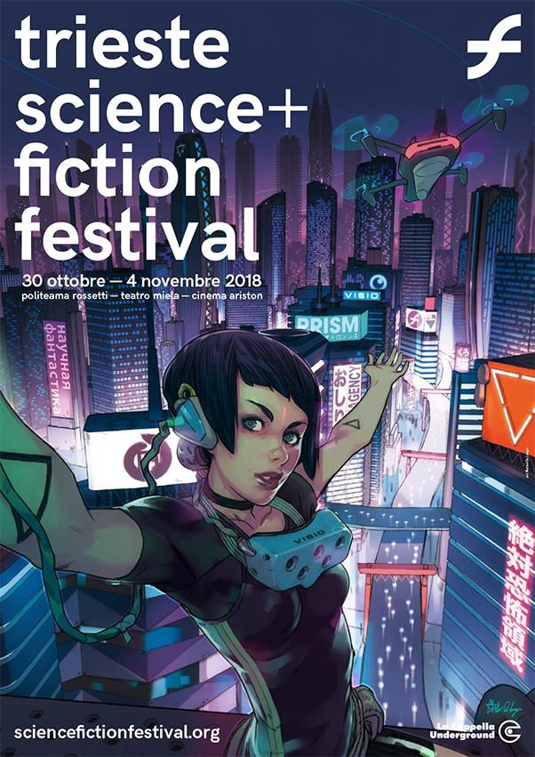 La locandina del Trieste Science+Fiction Festival