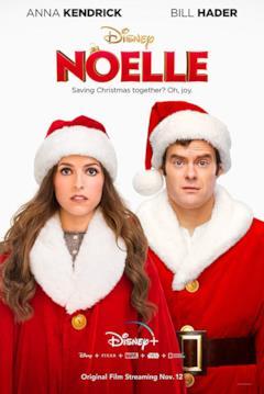 Anna Kendrick e Bill Hader nel poster di Noelle
