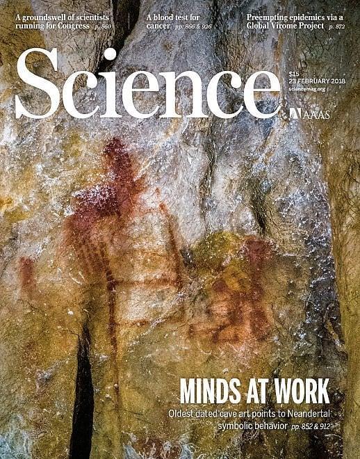 La copertina di oggi di Science