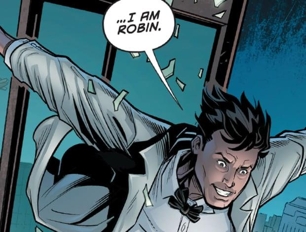 Dick Grayson in un fumetto