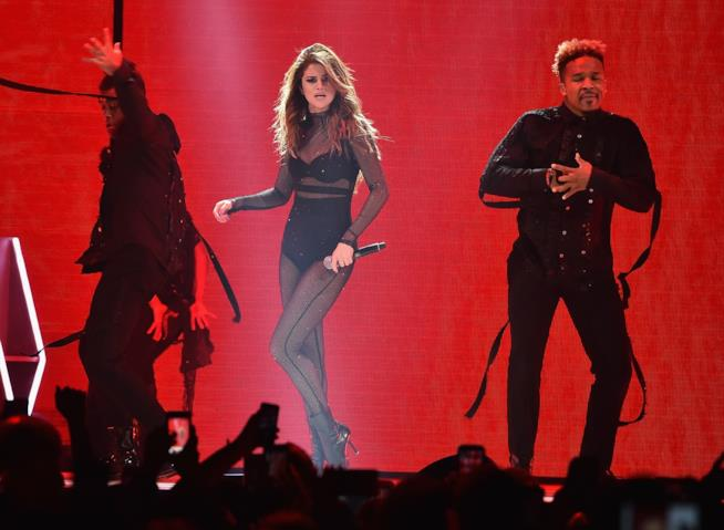Primo piano di Selena Gomez