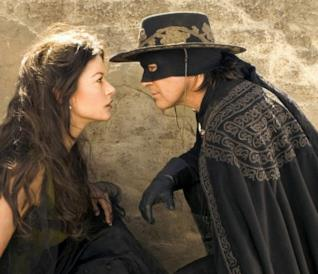 Una scena di The Legend of Zorro