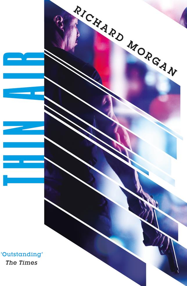 Il nuovo romanzo di Morgan Thin Air