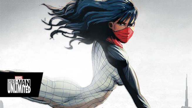Silk è un nuovo personaggio strettamente collegato a Spider-Man