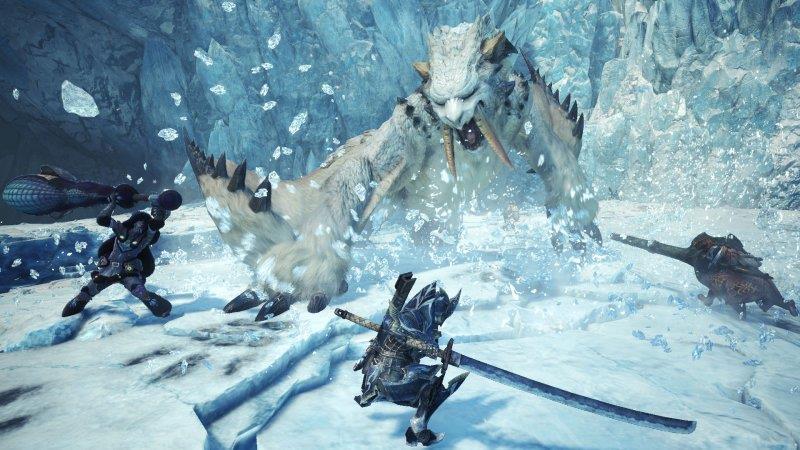 Monster Hunter World caccia