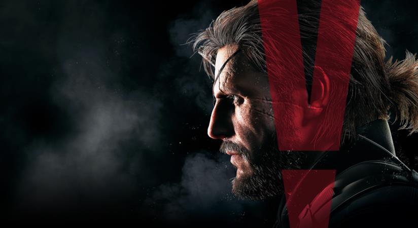 Big Boss sulla cover di Metal Gear Solid V