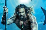 Jason Momoa nel poster di Aquaman