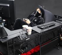 Il letto da gamer di Bauhutte