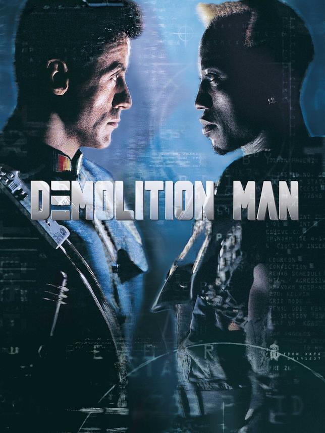 La cover di Demolition Man