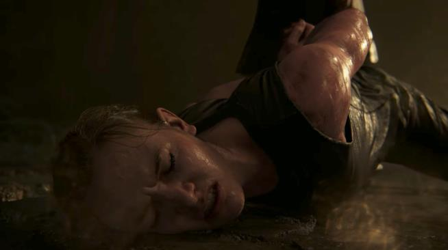 Una scena del nuovo trailer di The Last of Us Part II