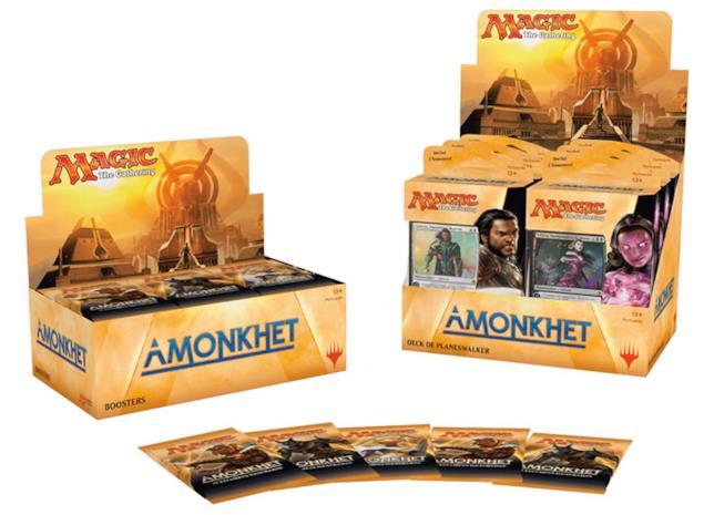 I nuovi mazzi e il box dell'espansione Amonkhet