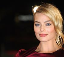 Margot Robbie in primo piano