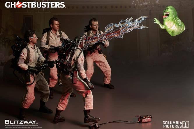Le action-figures dei Ghostbusters catturano Slimer