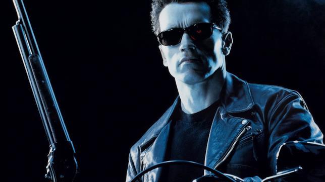 Arnold Schwarzenegger in Terminator 2 - Il giorno del giudizio