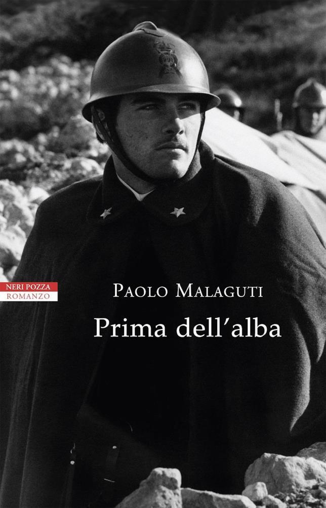 In copertina di Prima dell'Alba la foto di un soldato della Grande guerra