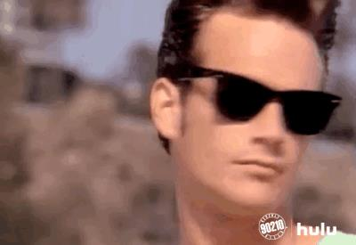 Luke Perry in Beverly Hills 90210