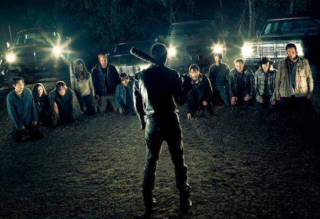 Negan minaccia i sopravvissuti
