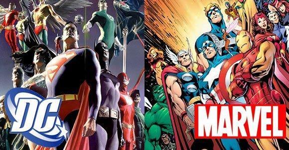 Eroi dei fumetti a confronto