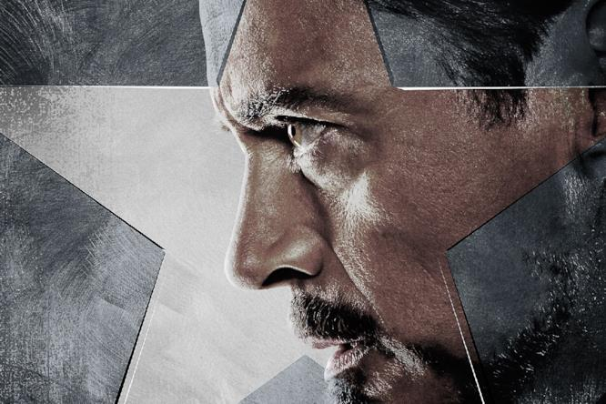 Tony Stark, a capo di Team Iron Man in Captain America: Civil War